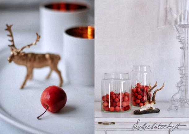 Fall decoration some news liebesbotschaft blog - Kupferspray deko ...