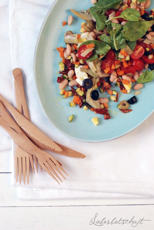 einmal bitte den doppelten sommer salat to go liebesbotschaft blog. Black Bedroom Furniture Sets. Home Design Ideas