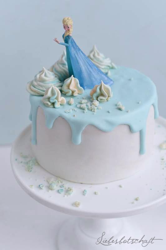 Die Eiskonigin Frozen Sweet Table Liebesbotschaft Blog